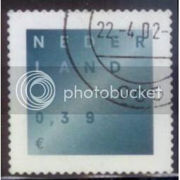 Netherlands used Stamp