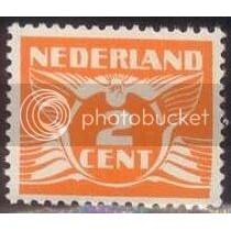 Netherlands Gull MNH-OG SC# 168