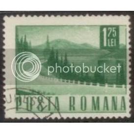Romania used stamp SC#1981