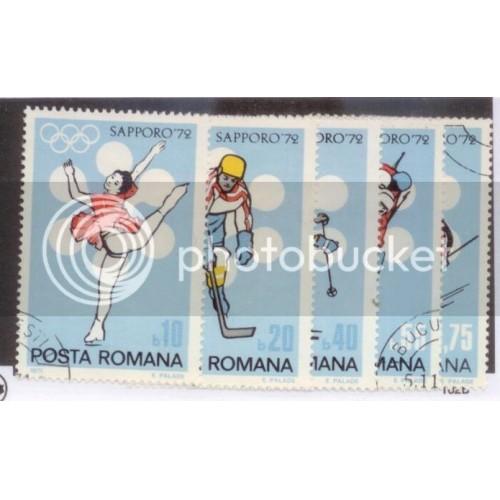 Romania 1971 SC#2294-8 Used L394