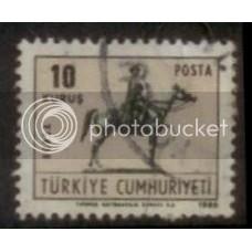 Turkey used stamp SC#1790