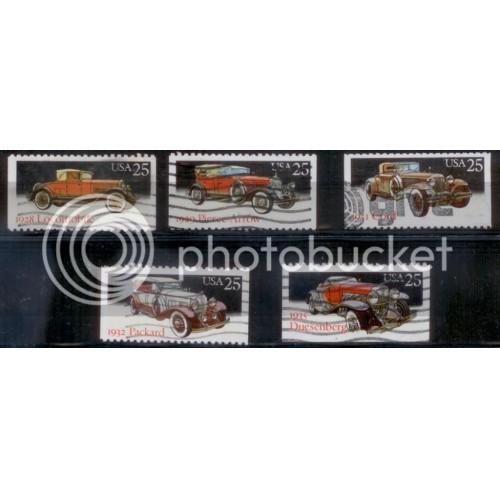 USA 1988 SC#2381-85 Used (L234)