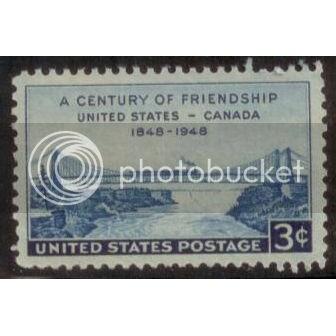 USA 1948 U.S.-Canadian Friendship SC# 961 MNH-OG