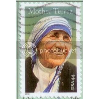 USA 2010 Mother Teresa SC#4475 Used