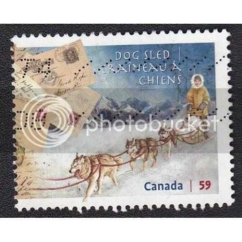 Canada 2469 Dog Sled
