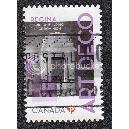 Canada 2476 Art Deco: Regina