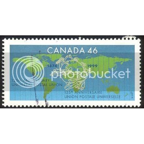 Canada 1806 UPU CV = 0.30$