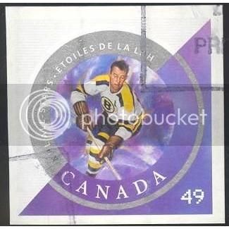 Canada 2018f Hockey Booklet: Milt Schimdt CV = 0.35$