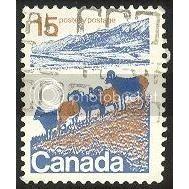 Canada 595p Sheep Perf. 12 1/2x12 Ottawa Tagging CV = 0.20$