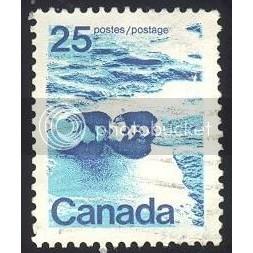 Canada 597p Polar Bears Perf. 12 1/2x12 Ottawa Tagging CV = 0.20$