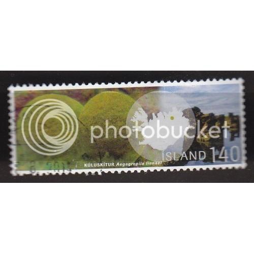 ICELAND 1151 Aegagropila linnanei CV = 3.25$
