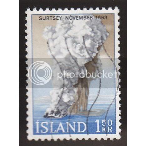 ICELAND 372 Surtsey November 1963 CV = 0.65$