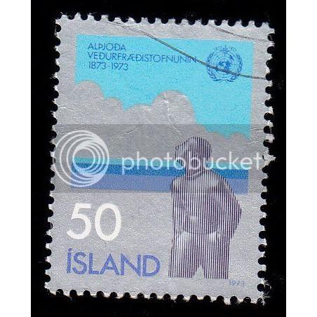 ICELAND 460 Intl. Meteorological Cooperation CV = 0.65$