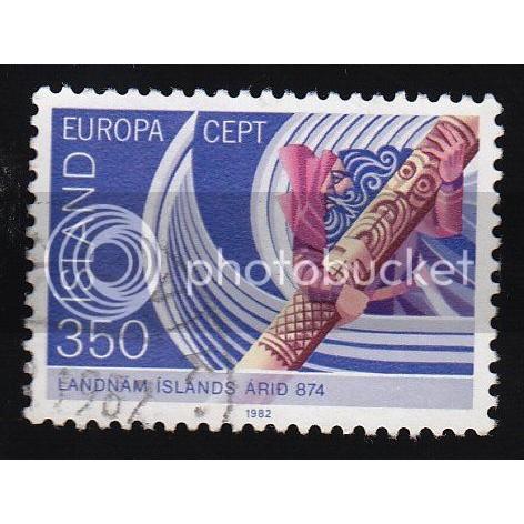 ICELAND 554 Europa 1982 CV = 1.50$