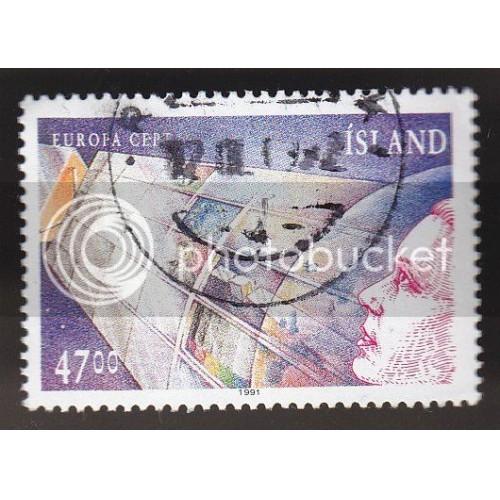 ICELAND 739 Europa 1991 CV = 2$