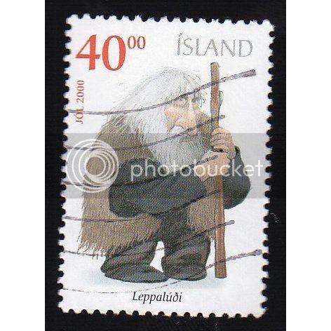 ICELAND 924 Christmas 2000 CV = 1$