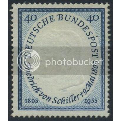 1955 GERMANY Scott 727 (Michel 210) MNH SINGLE