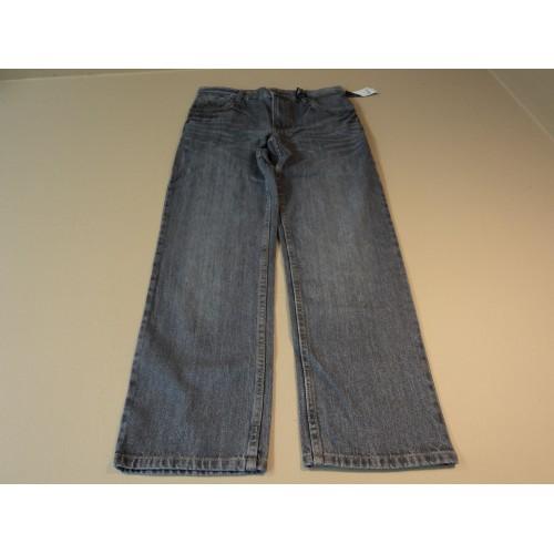 Faded Glory Boys Pants Straight Cut 100% Cotton Male Kids 14 Blues FB10205B
