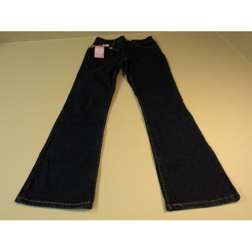 Levi Strauss Jeans At Waist Bootcut Cotton Elastane Female Adult 4 Short Blues