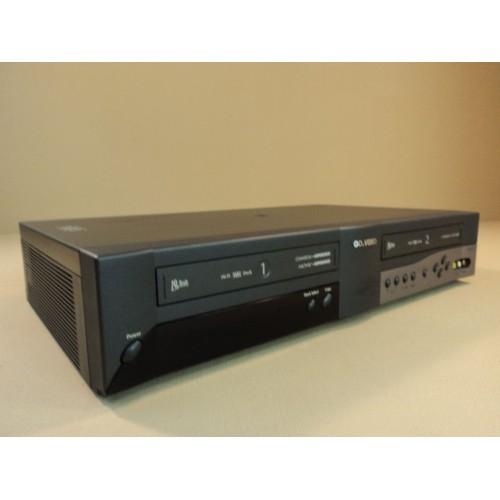 Go Video Dual Video Cassette Recorder Commercial Advance 19 Heads Hi-Fi DDV3110