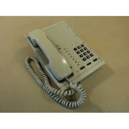 Rolm Corded Office Digital Telephone Beige 12 Function Keys Multiline RP120 V1