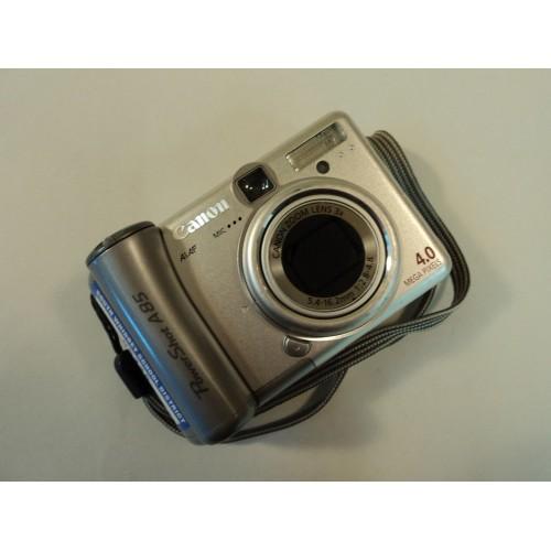 Canon Digital Still Camera 4.0MP 3x Optical 3.6x Digital Zoom PowerShot A85