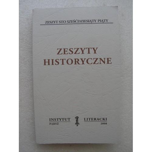 Zeszyty Historyczne # 165. (Instytut Literacki, Paryz 2008)