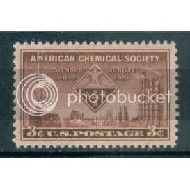 1002 3c Chemical Society Fine MNH Plt/4 UR 24464 Plt00064