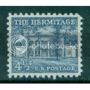 1037 4 1/2c Hermitage Fine MNH