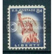 1042 8c Statue of Liberty Fine MNH Plt/4 LL 25950 Plt02510