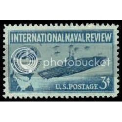 1091 3c Naval Review Fine MNH Plt/4 UR 25730 Plt12994