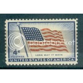 1094 4c U.S. Flag Fine MNH