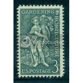 1100 3c Gardening Fine MNH Plt/4 LR 25945 Plt05899