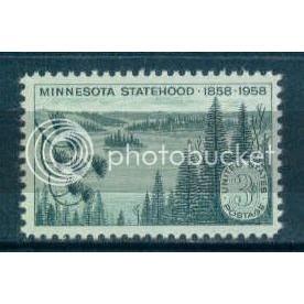 1106 3c Minnesota Fine MNH Plt/4 UL 25994 Plt00005