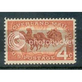 1120 4c Overland Mail Fine MNH Plt/4 LR 26160 Plt08203