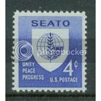 1151 4c SEATO Fine MNH Plt/4 UL 26634 Plt11945