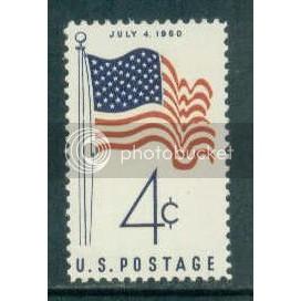 1153 4c U.S. Flag Fine MNH Plt/4 LR 26639 Plt13086