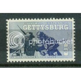 1180 5c Gettysburg Fine MNH Plt/4 UR 27519 Plt03573