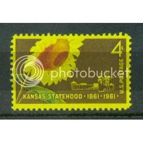 1183 4c Kansas Fine MNH