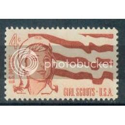 1199 4c Girl Scouts Fine MNH Plt/4 LR 27217 Plt06097