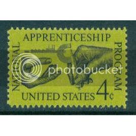 1201 4c Apprenticeship Fine MNH Plt/4 UL 27250 Plt06103