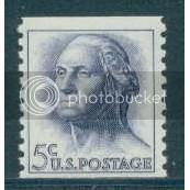 1229 5c Washington Fine MNH