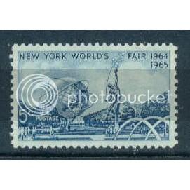 1244 5c N.Y. Worlds Fair Fine MNH Plt/4 UR 27743 Plt08604