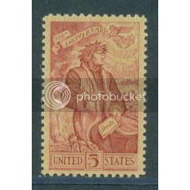 1268 5c Alighieri Fine MNH