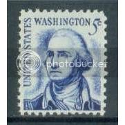 1283B 5c Washington Fine MNH Dry Gum