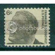 1284 6c Roosevelt Fine MNH Plt/4 UL 29212 J890