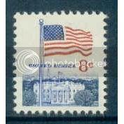 1338F 8c U.S. Flag Fine MNH Plt/20 Top PltL15816