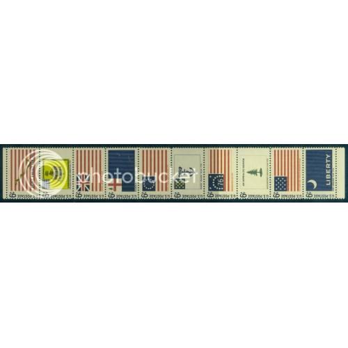 1354-1345 6c Flags Fine MNH Plt/20 LR 30311 PltL5614