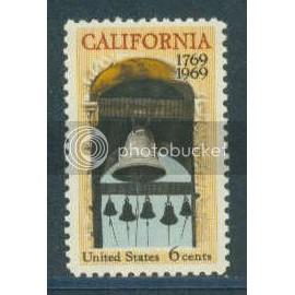 1373 6c California Fine MNH Plt/4 UL 31030 Plt08872