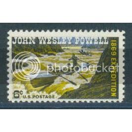 1374 6c Powell Fine MNH Plt/4 UL 31202 Plt06405